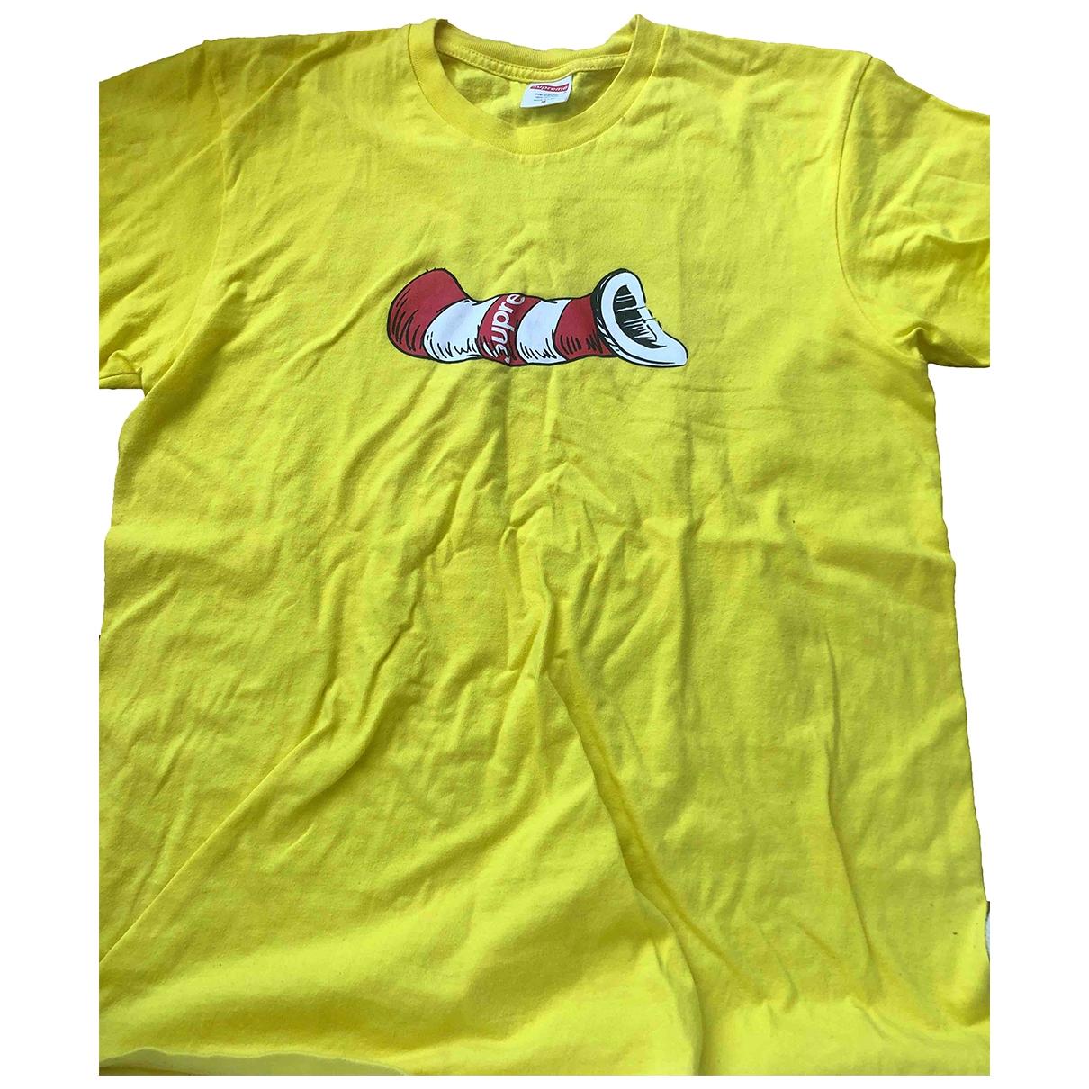 Supreme \N Yellow Cotton T-shirts for Men M International