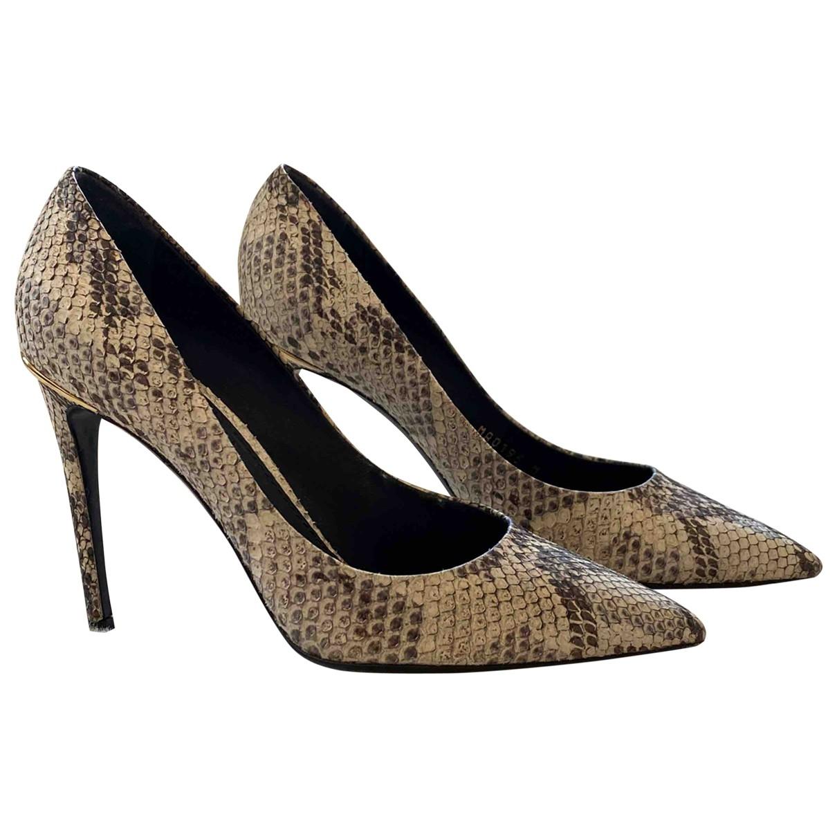Louis Vuitton - Escarpins Cherie pour femme en python