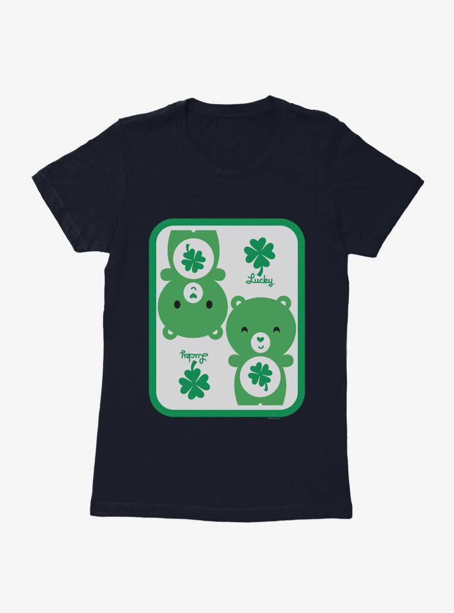 Care Bears Cartoon Good Luck Icon Womens T-Shirt
