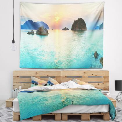 TAP6413-80-68 Sunrise Panorama - Photography Wall Tapestry -
