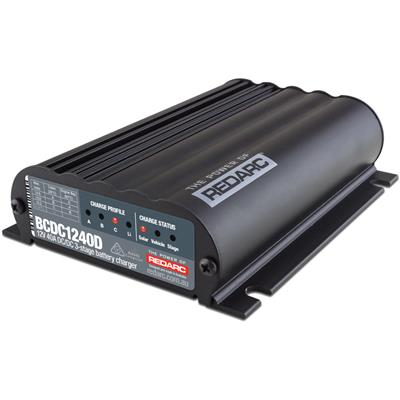 REDARC Dual Input 40A In-Vehicle DC Battery Charger - BCDC1240D