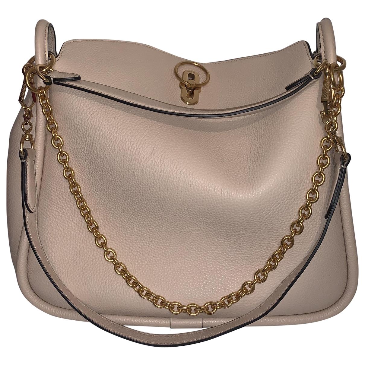 Mulberry Leighton Handtasche in  Beige Leder