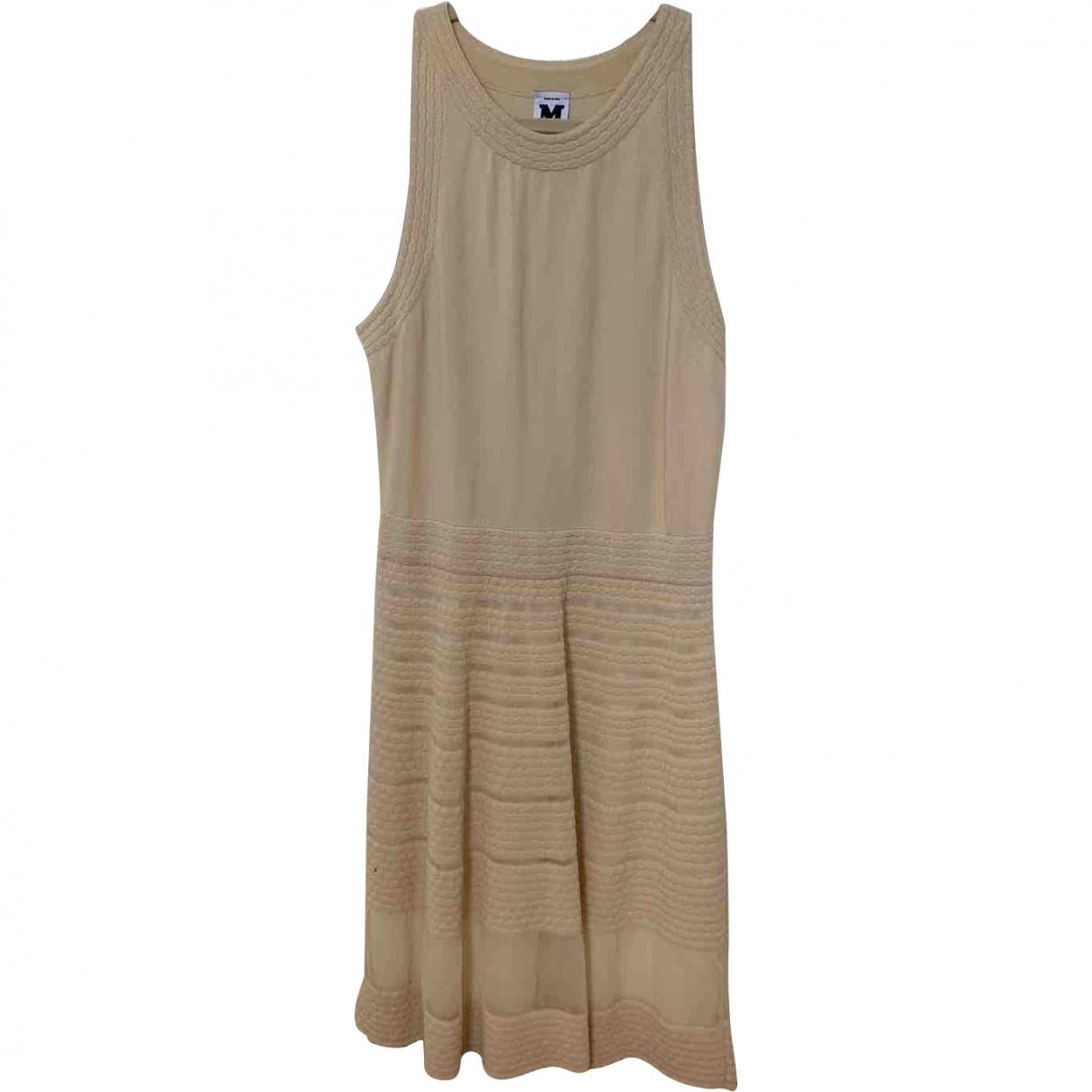 M Missoni \N Kleid in  Beige Viskose