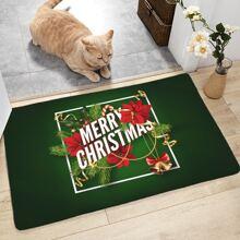Weihnachtsmuster Bodenmatte
