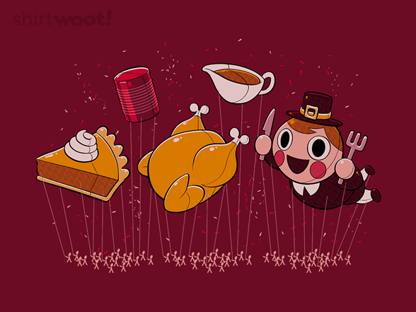 Food Parade T Shirt