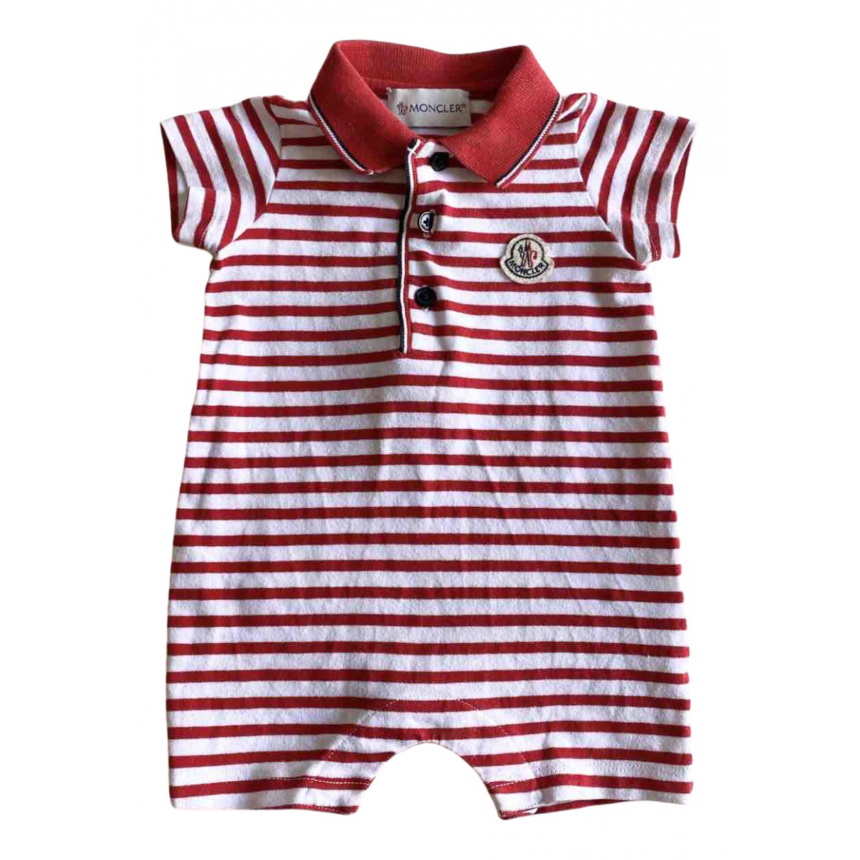Moncler N White Cotton Outfits for Kids 3 months - up to 60cm FR