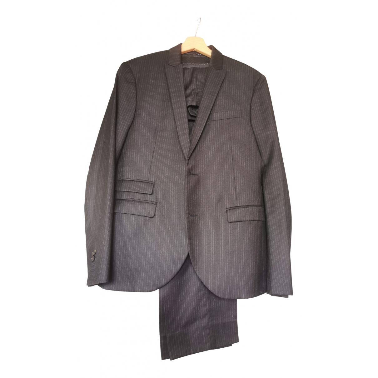 Neil Barrett - Costumes   pour homme en laine - bleu