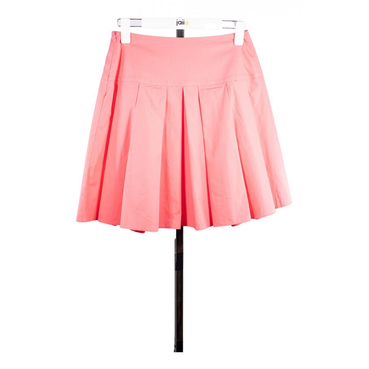 Paule Ka - Jupe   pour femme en coton - rose