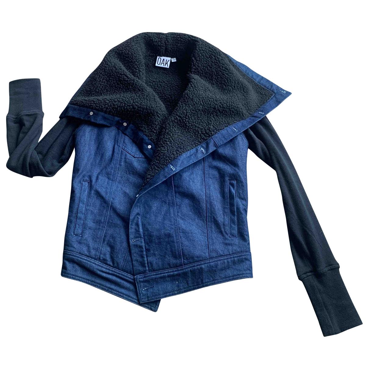 Oak \N Blue Denim - Jeans jacket for Women S International