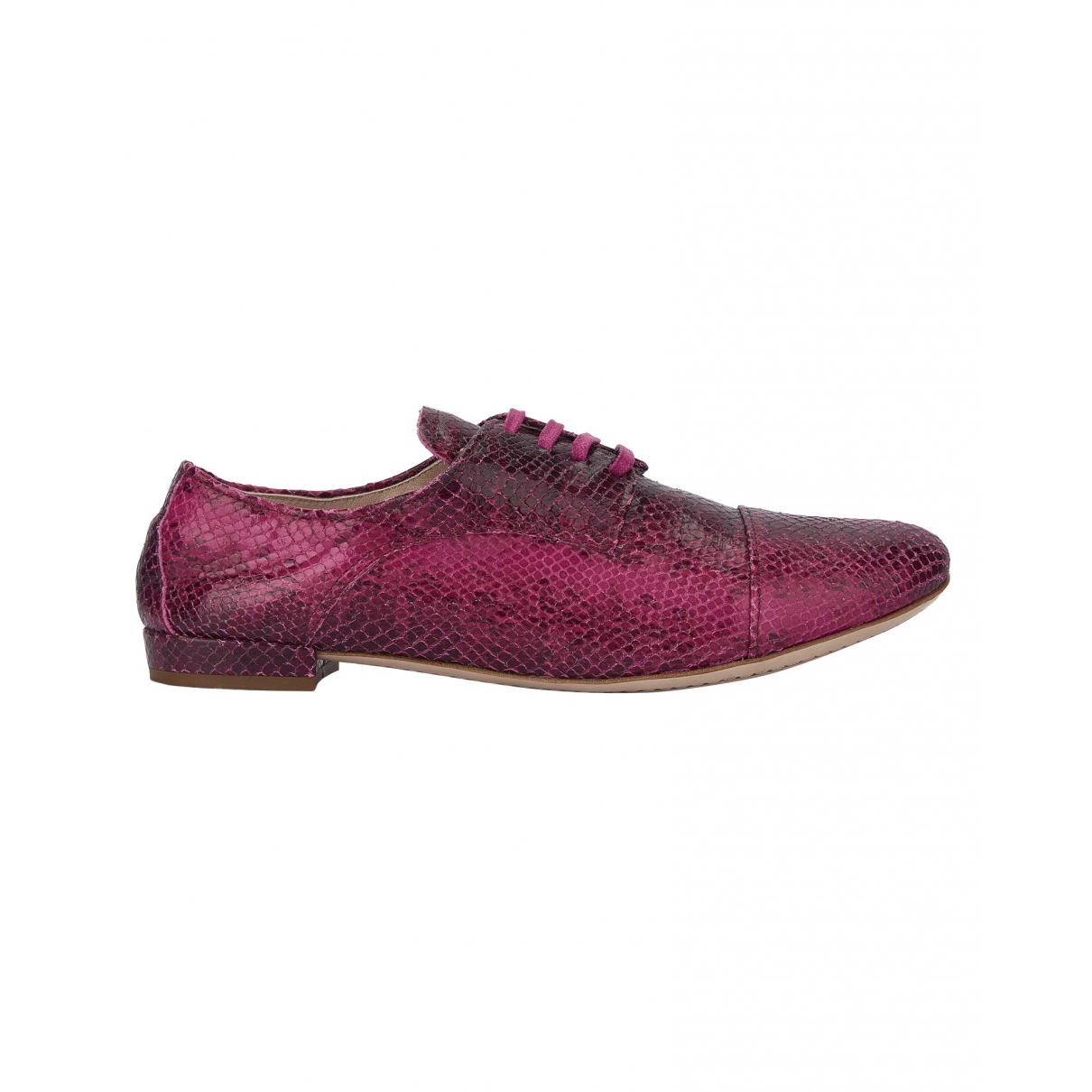 Miu Miu \N Pink Leather Lace ups for Women 3 UK