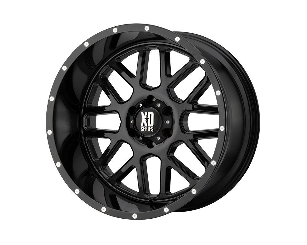 XD Series XD82029050318 XD820 Grenade Wheel 20x9 5x5x127 +18mm Gloss Black