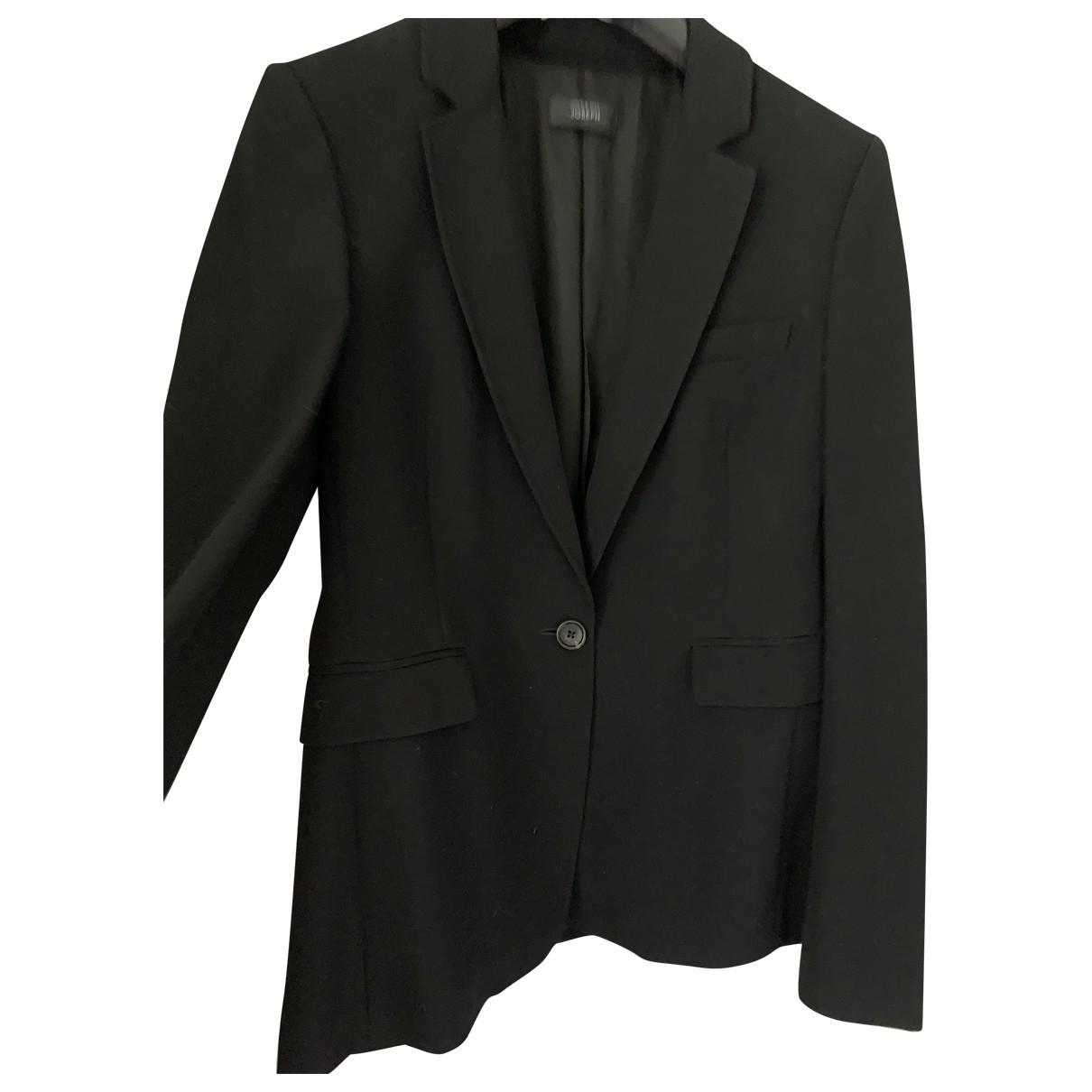 Joseph \N Black Wool jacket for Women 42 IT