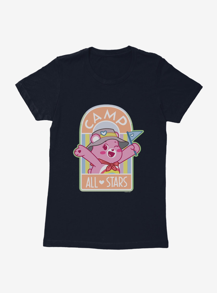 Care Bears Camp All Stars Cheer Bear Womens T-Shirt