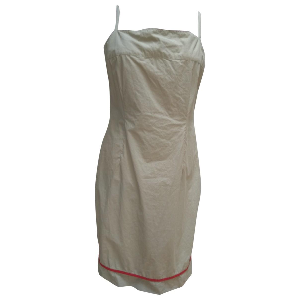 Calvin Klein \N Khaki Cotton dress for Women XL International