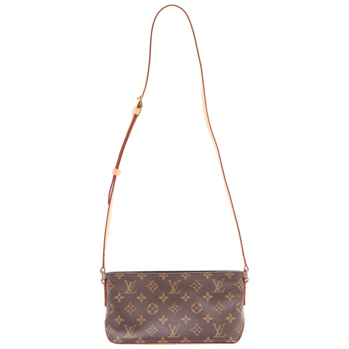 Louis Vuitton Trotteur Cloth handbag for Women N