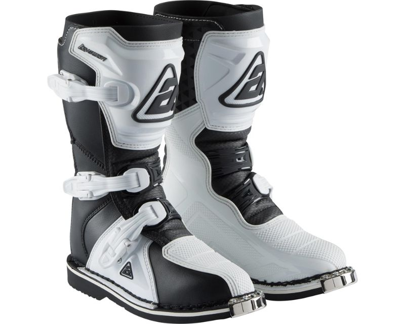 Answer 445240 AR1 Youth Boots White Black Y4