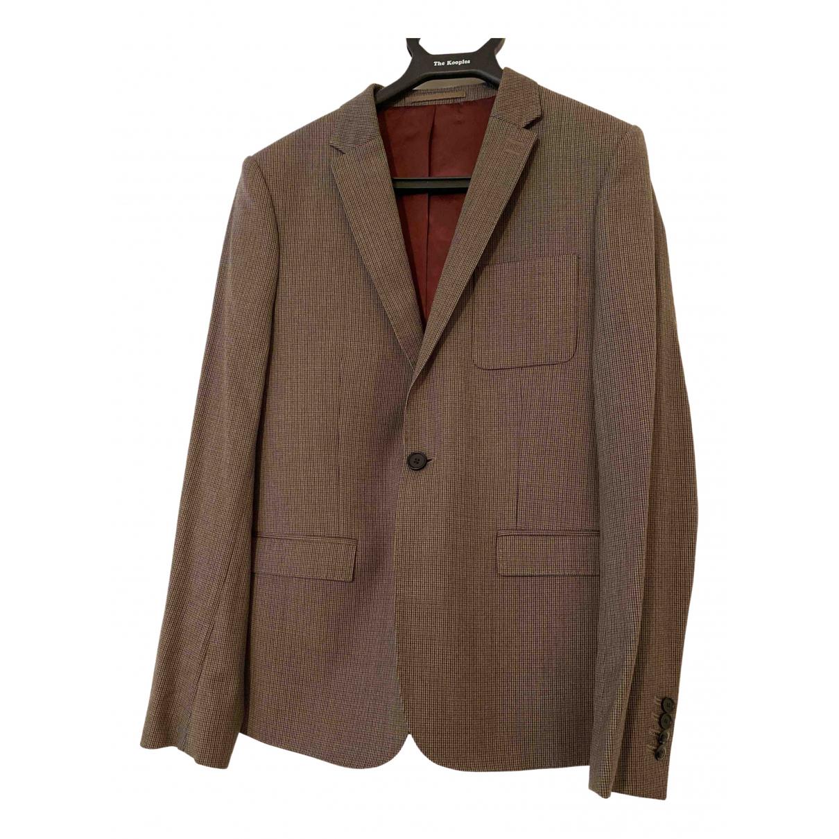 The Kooples \N Cotton Suits for Men 46 FR