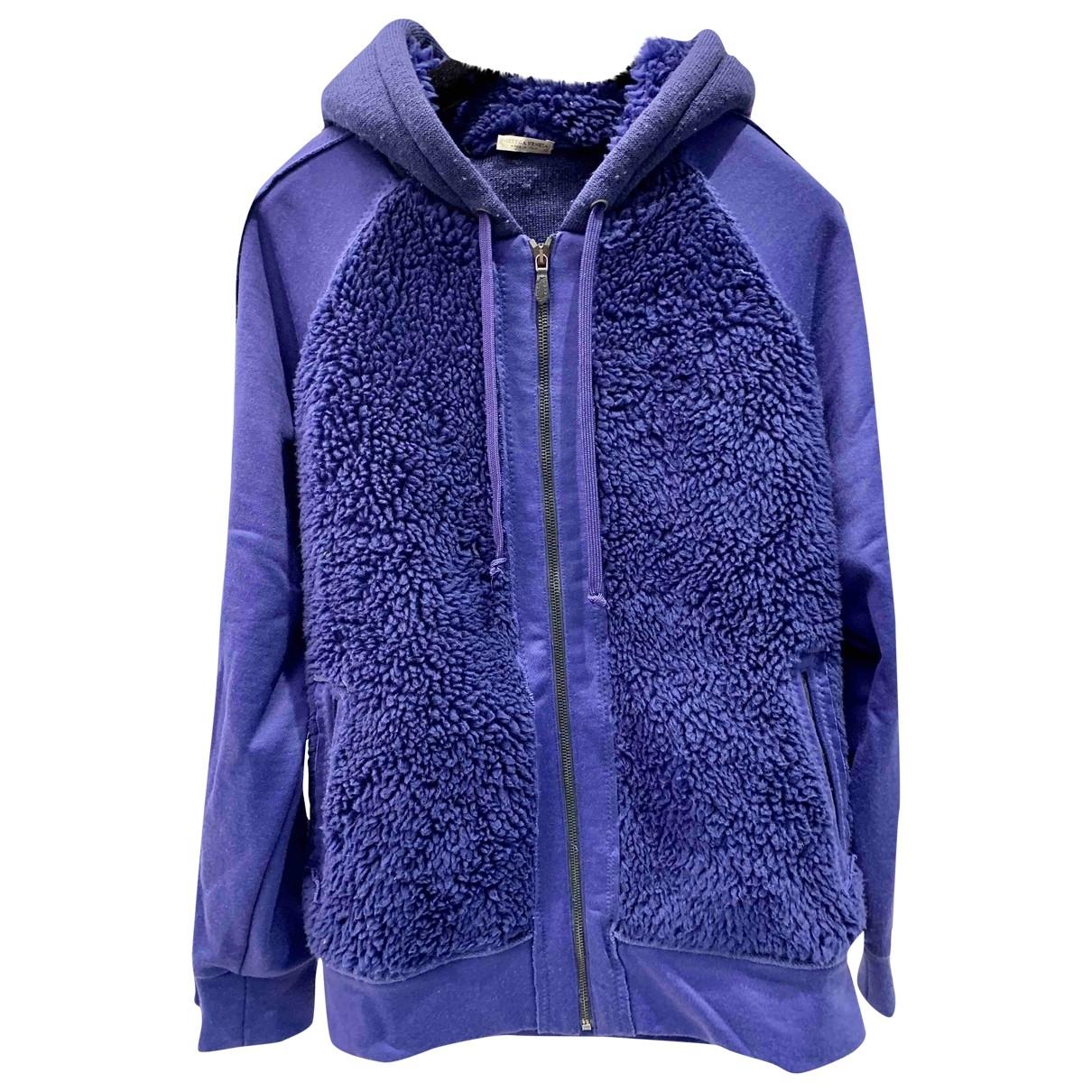 Bottega Veneta \N Pullover.Westen.Sweatshirts  in  Lila Viskose
