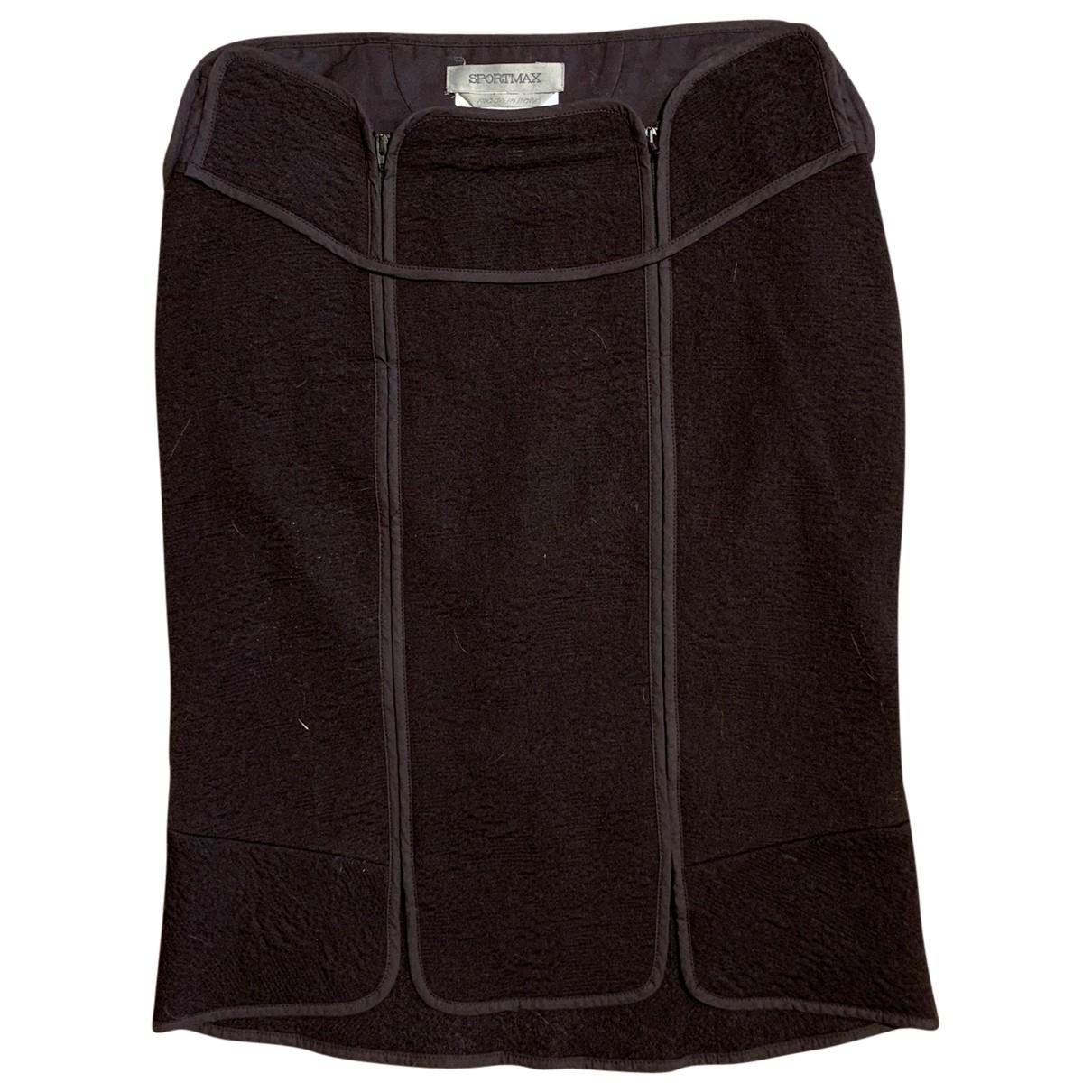 Sport Max \N Brown Cotton skirt for Women 36 FR