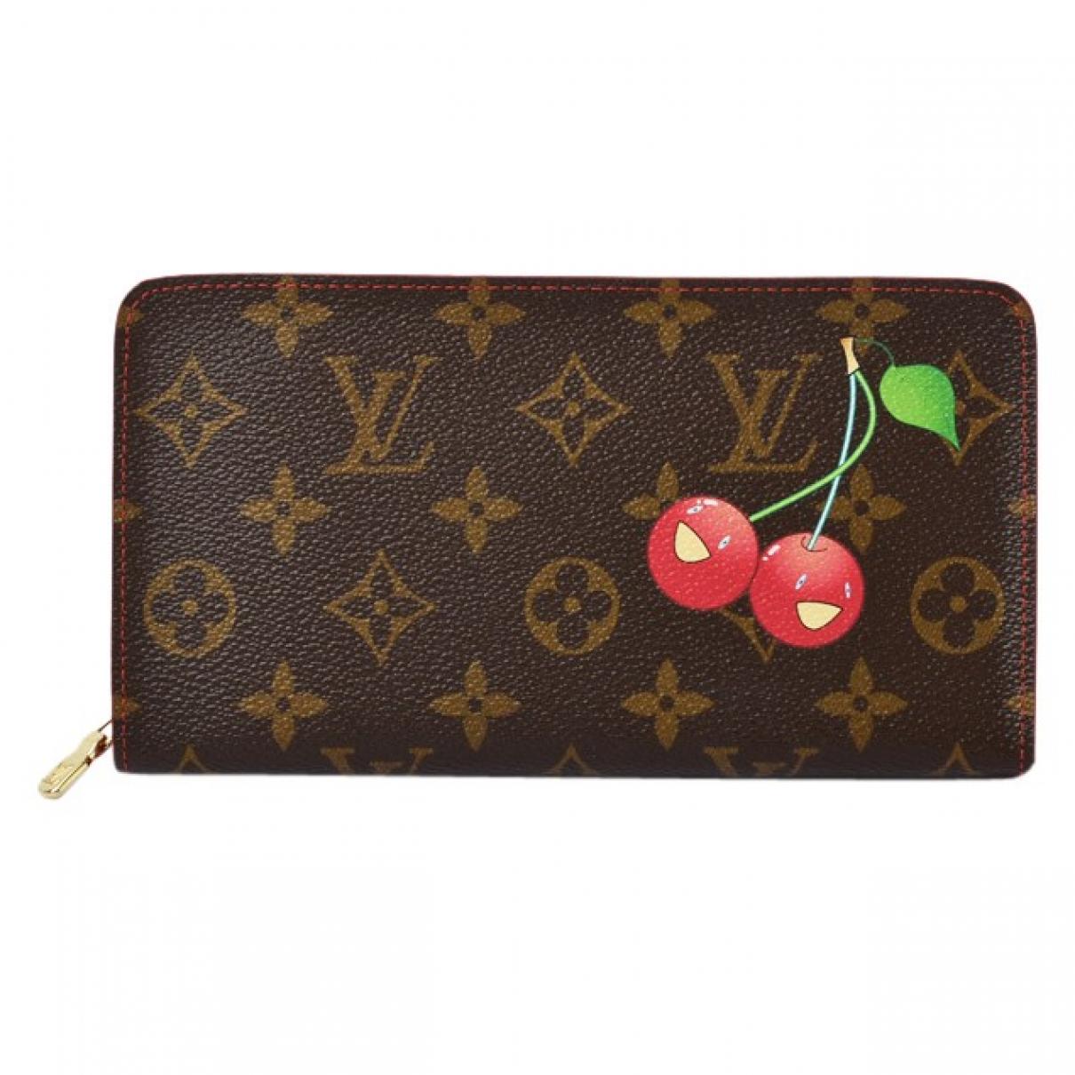 Louis Vuitton Zippy Brown Cloth wallet for Women \N