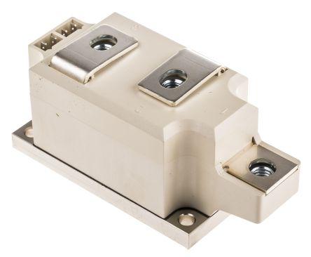 Semikron , SKKT250/18E, Dual Thyristor Module SCR, 250A 1800V, 7-Pin SEMIPACK3