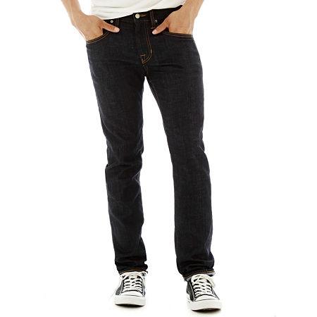 Arizona Men's Flex Skinny Jeans, 31 30, Blue
