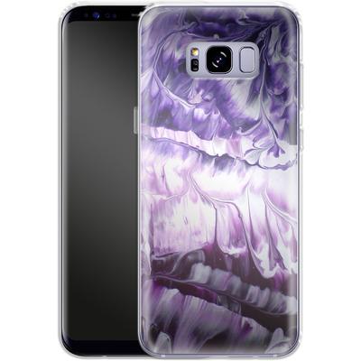 Samsung Galaxy S8 Plus Silikon Handyhuelle - Macro 5 von Gela Behrmann