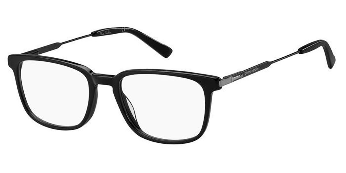Pierre Cardin P.C. 6230 807 Men's Glasses Black Size 54 - Free Lenses - HSA/FSA Insurance - Blue Light Block Available