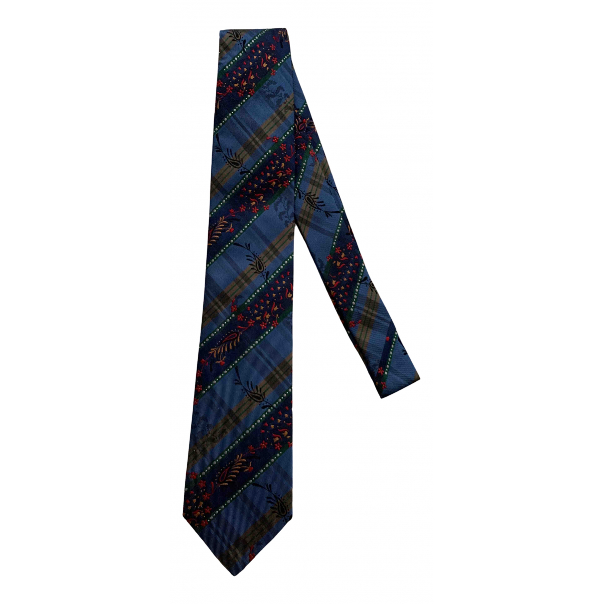 Kenzo N Blue Silk Ties for Men N