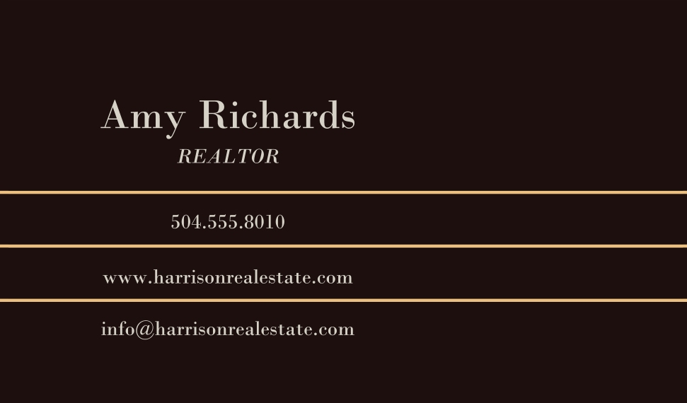 Residential & Commercial Business Cards, Set of 40, Silk Rounded, Card & Stationery -Elegant Marble Real Estate