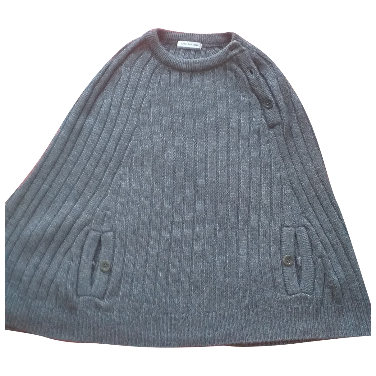 Angel Schlesser \N Pullover in  Grau Wolle