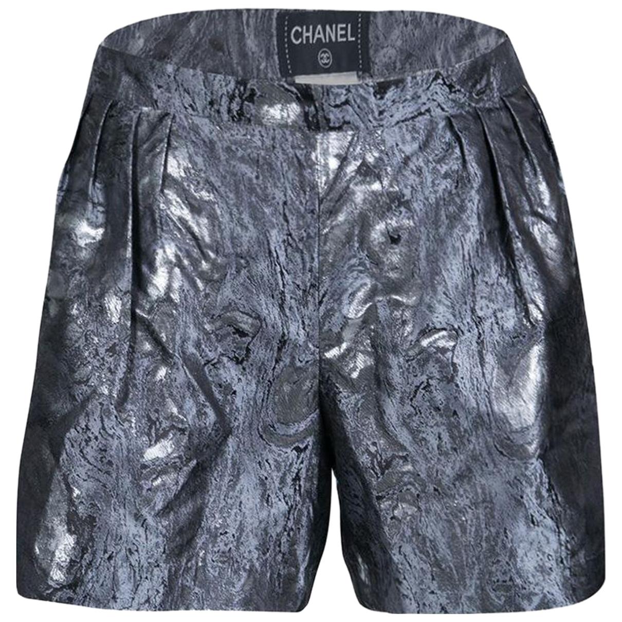 Chanel \N Silk Shorts for Women 40 FR