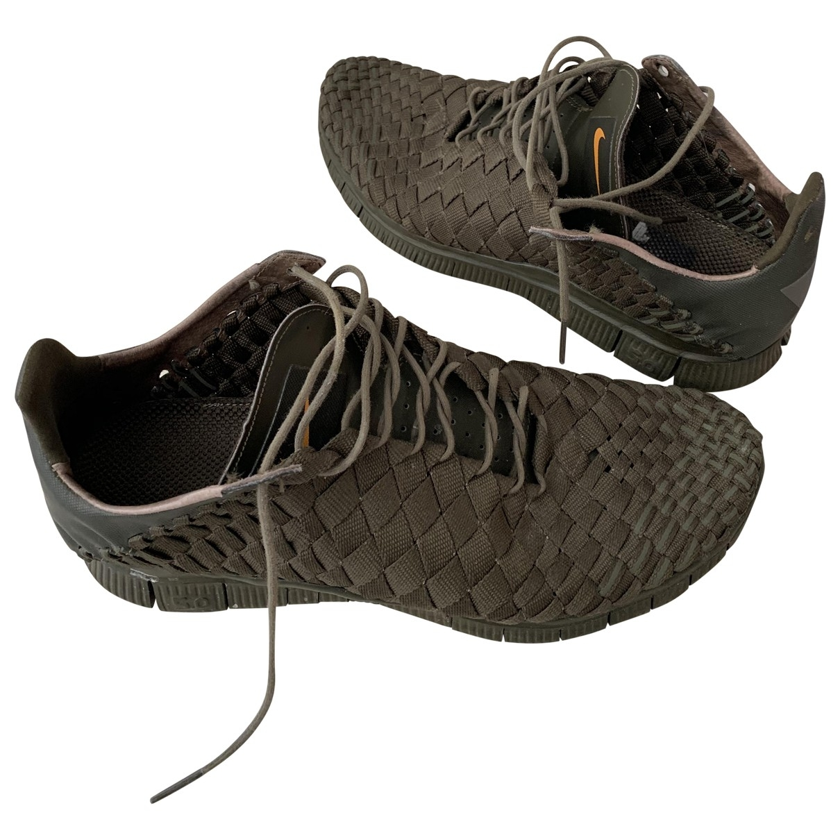 Nike Air Woven Green Cloth Trainers for Men 11 US