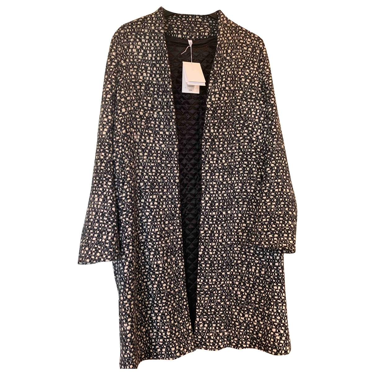 Nicole Farhi \N Multicolour Wool coat for Women 14 UK