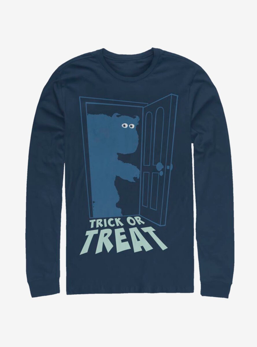 Disney Pixar Monsters University Sulley Trick Or Treat Long-Sleeve T-Shirt
