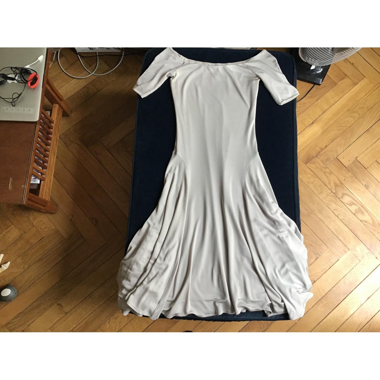 Vestido midi de Seda Ralph Lauren