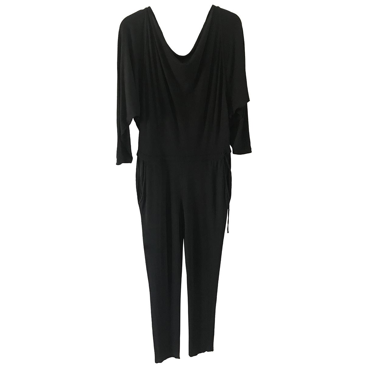 Stella Mccartney N Black Cotton jumpsuit for Women 38 IT