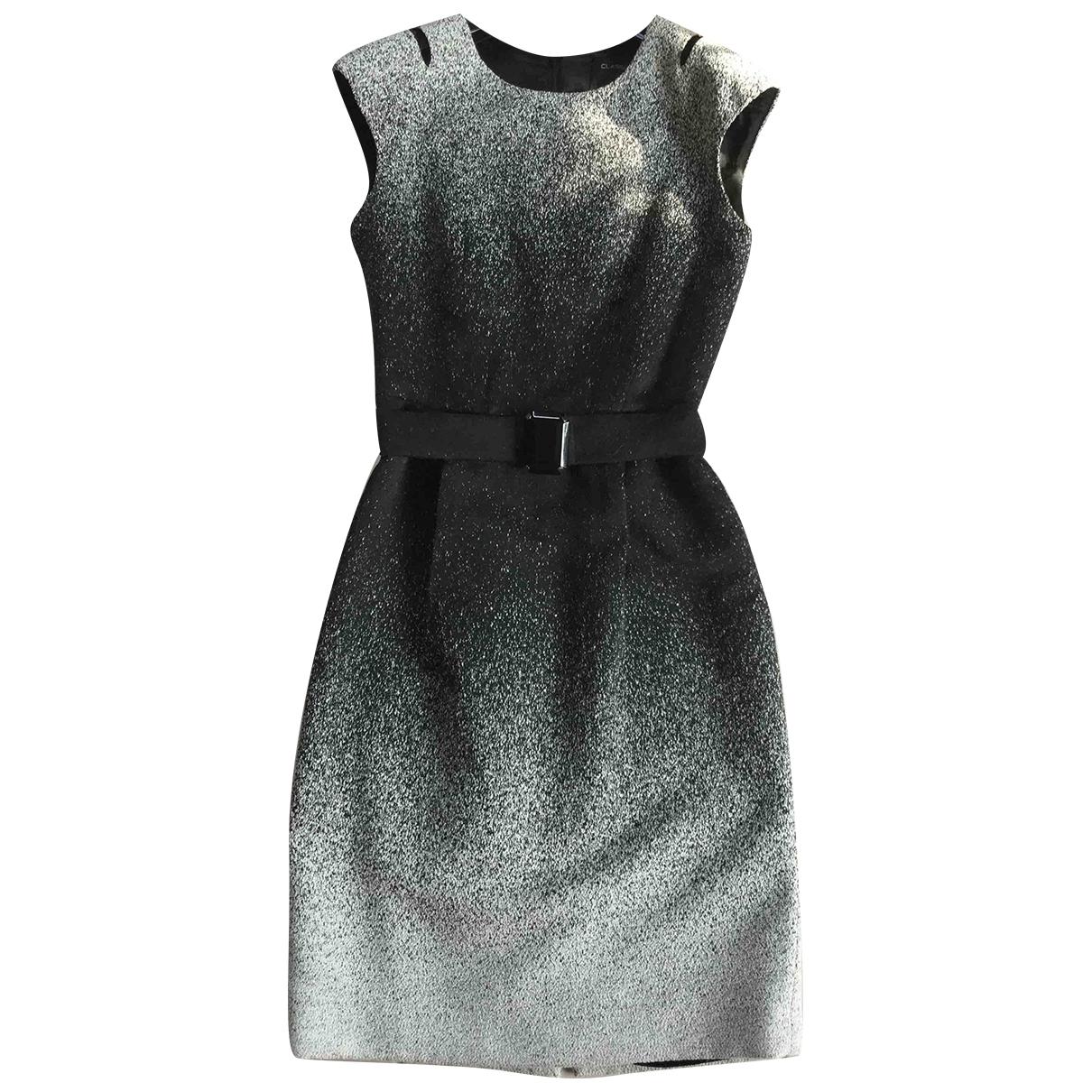 Class Cavalli \N Kleid in  Schwarz Wolle