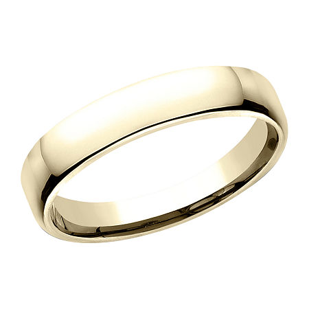4.5MM 10K Gold Wedding Band, 7 1/2 , No Color Family