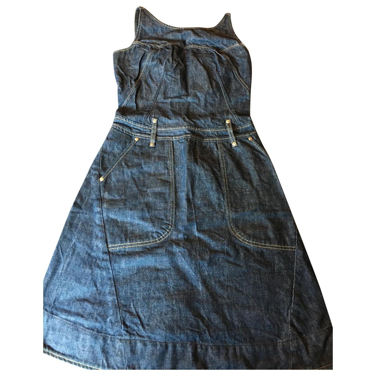 Levis \N Kleid in  Blau Baumwolle