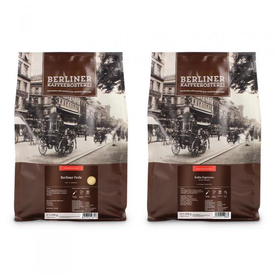 "Kaffeebohnen-Set ""Berliner Kaffeerosterei set"", 2 kg"