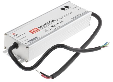 Mean Well , 153.6W Embedded Switch Mode Power Supply SMPS, 48V dc, Enclosed