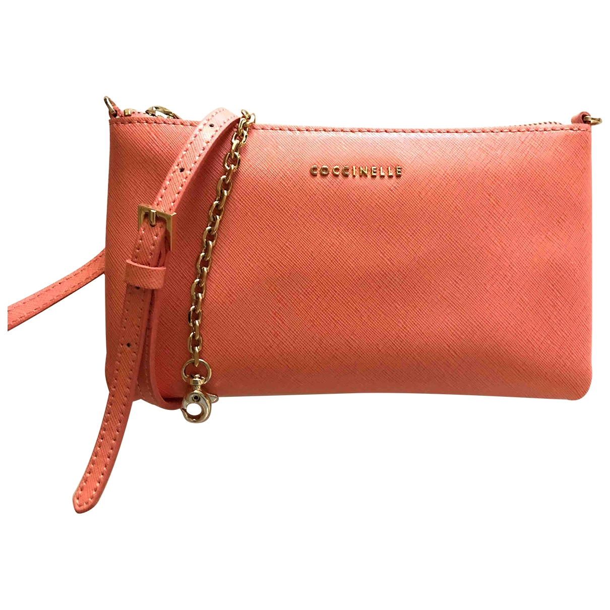 Coccinelle \N Clutch in Leder