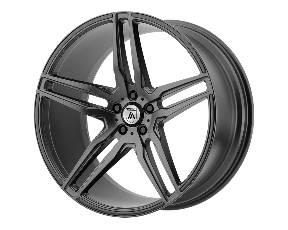 Asanti ABL12-20900015MG Black ABL-12 Orion Wheel 20x9 Blank +0mm Matte Graphite