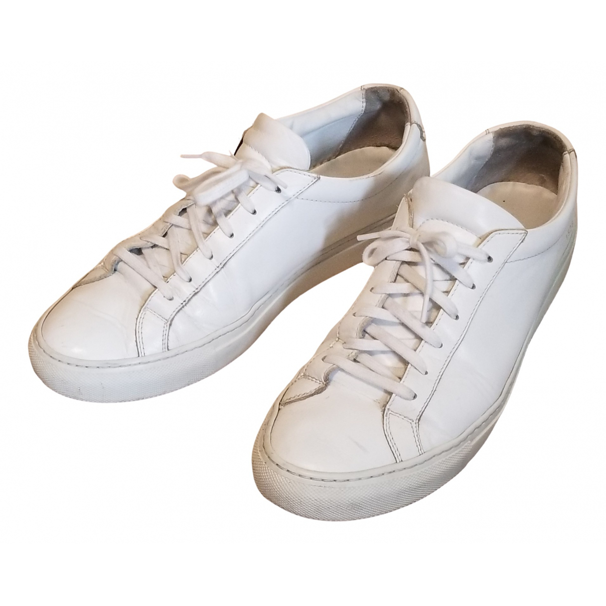 Common Projects \N White Leather Trainers for Men 42 EU