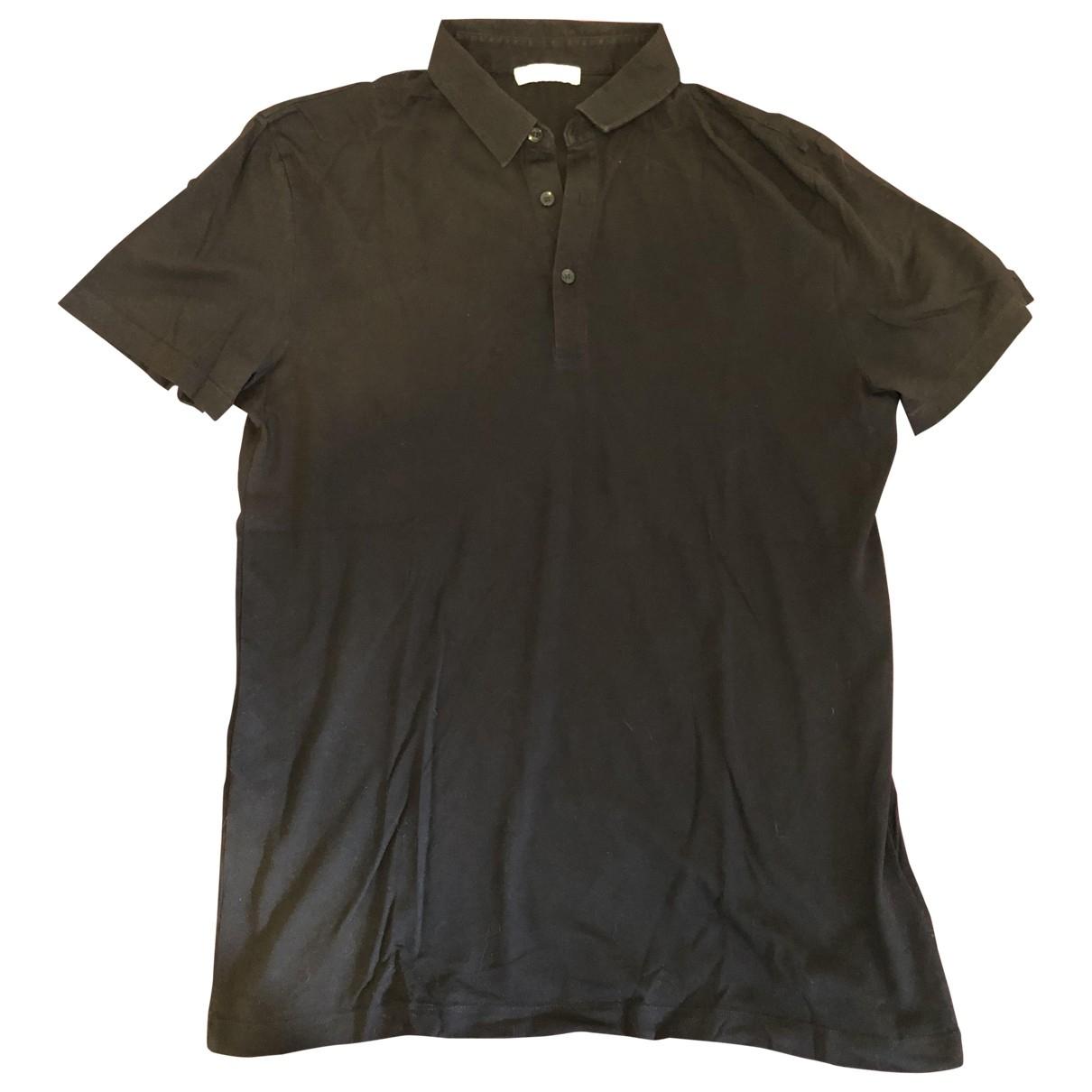Versace \N Black Cotton Polo shirts for Men L International
