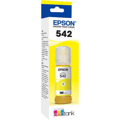 Epson T542 T542420-S Original Yellow Ink Bottle Extra High Yield