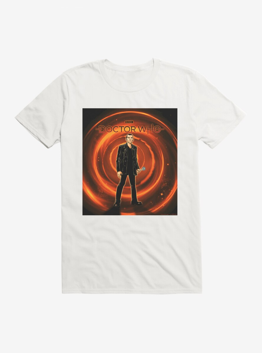 Doctor Who The Ninth Doctor Time Warp T-Shirt