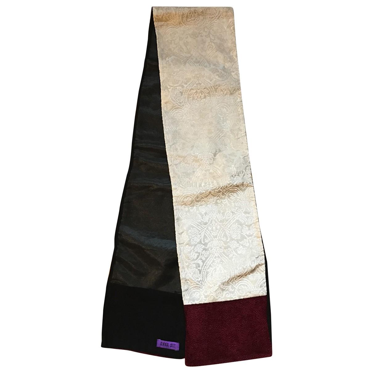Anna Sui \N Beige scarf for Women \N
