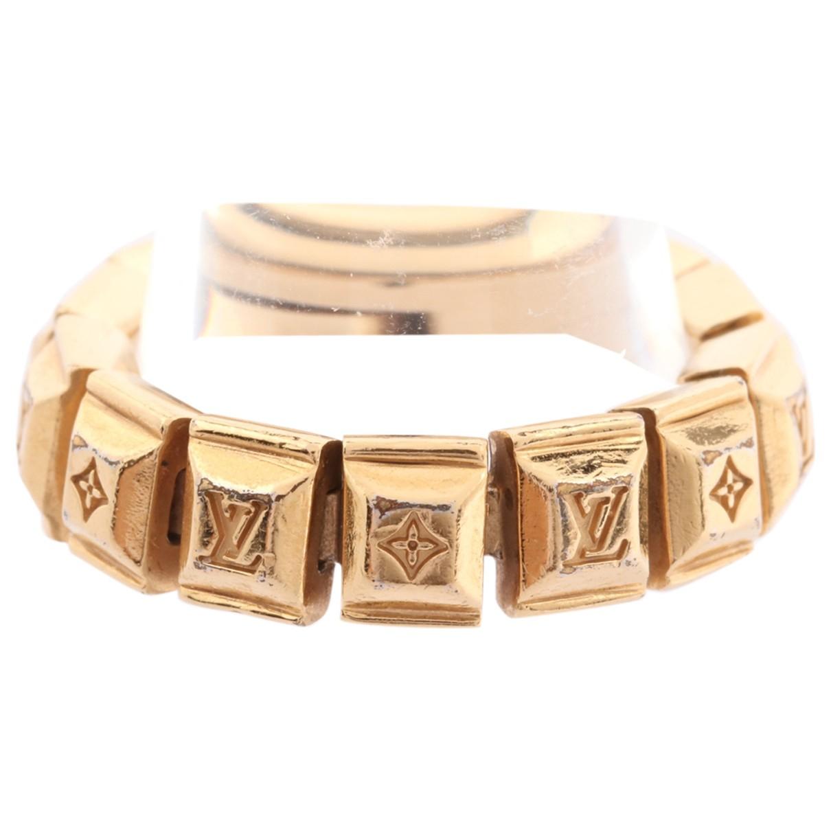 Louis Vuitton \N Gold Metal bracelet for Women 53 MM